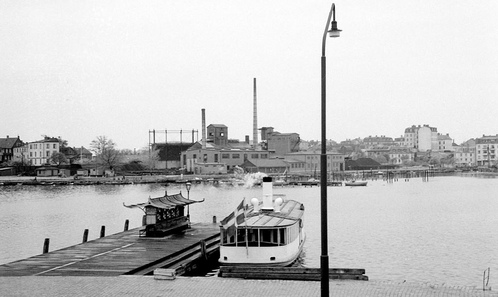 Även dagens gamla bild blir från Borgmästarefjärden