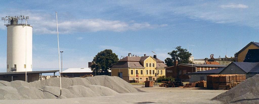 Den gamla silon, Palanderska och Tullhuset
