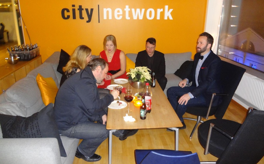 Julfest hos City Network och Social Factory