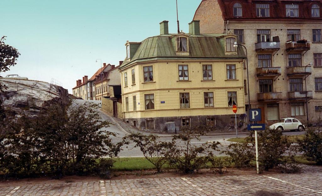 Björkholmsplan och Krister Hornsgatan