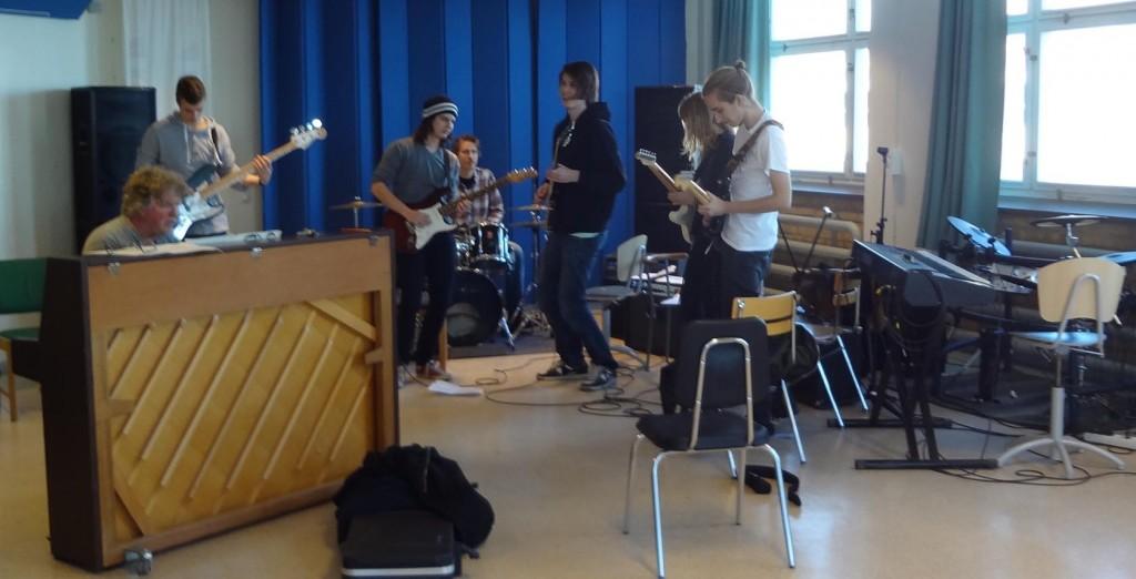 Musiklinjen på Törnströmska gymnasiet