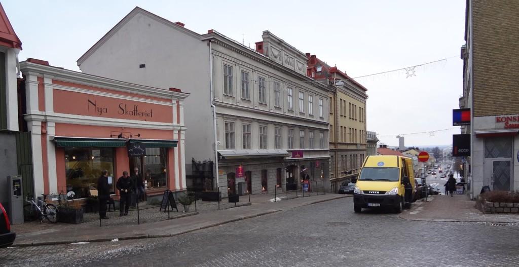 Rådhusgatan som den ser ut idag