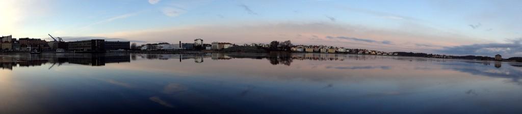 Panorama från Borgmästarefjärden