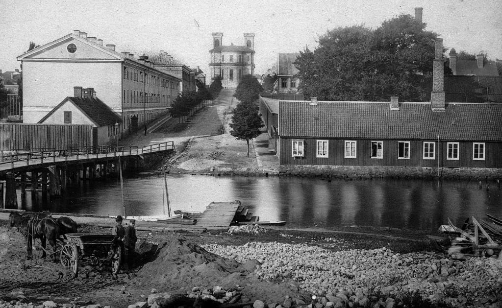 Stumholmskanalen på 1890-talet
