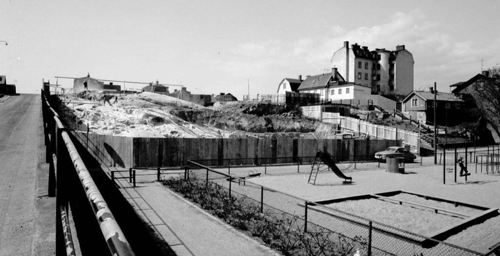 Björkholmsbacken kring 1970