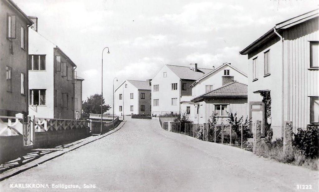 Bollögatan på Saltö