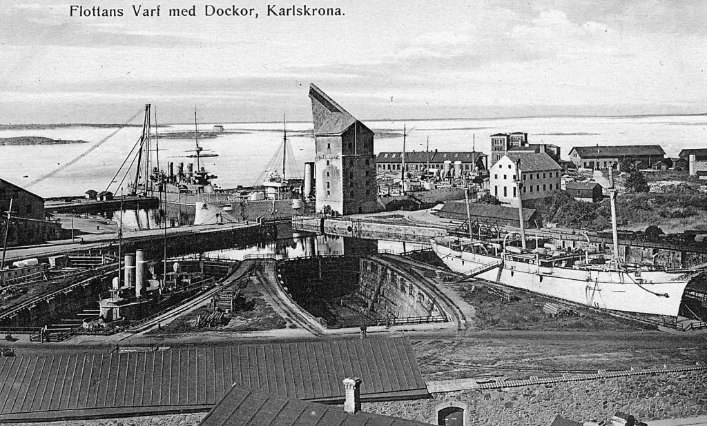 Dockorna på Karlskronavarvet