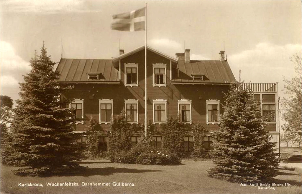Wachenfeldtska barnhemmet på Gullberna