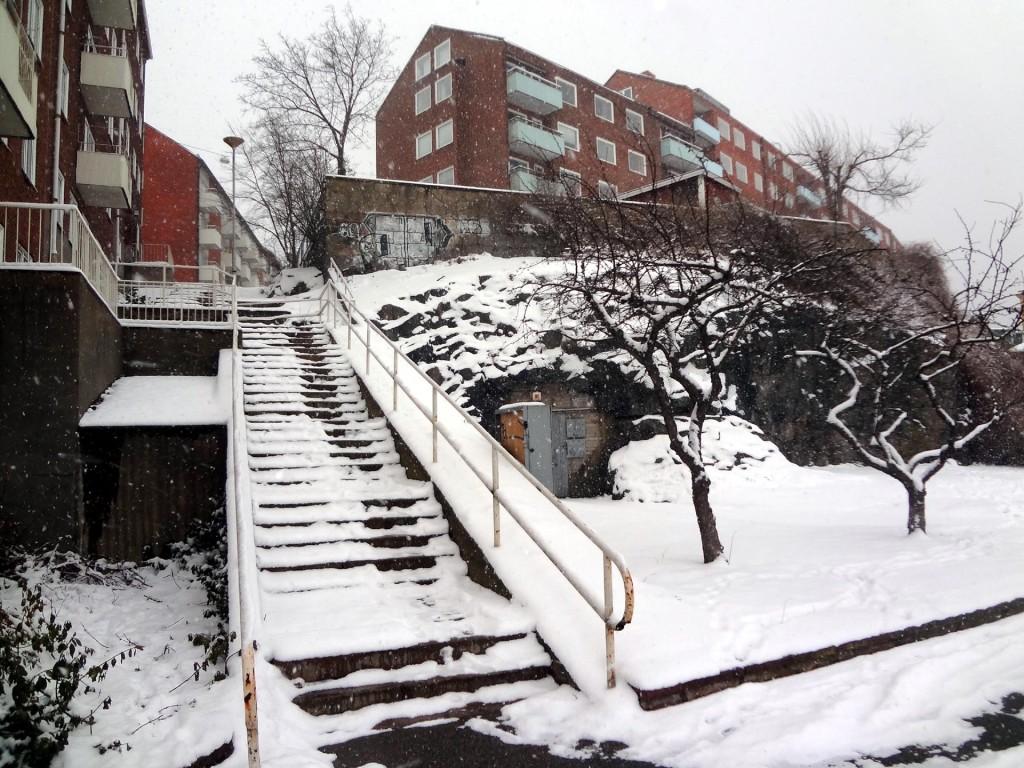 Dagens vårbild - Högaberstrappan