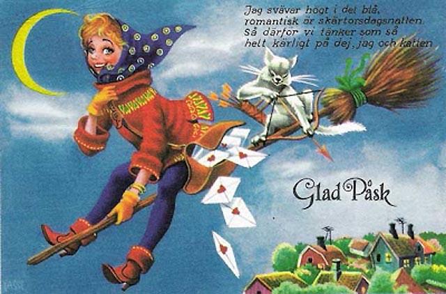 Glad Påsk med vykort!