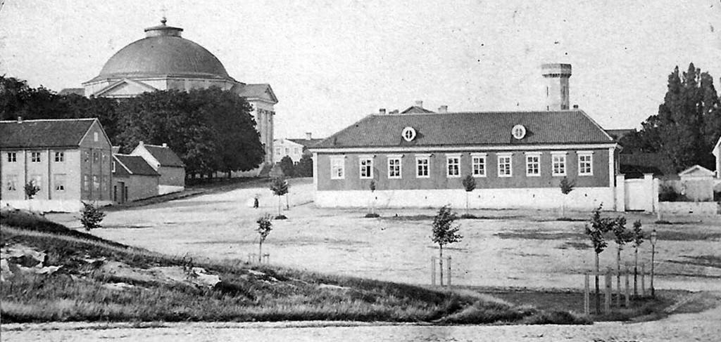 Amiralitetsskolan i början av 1870-talet