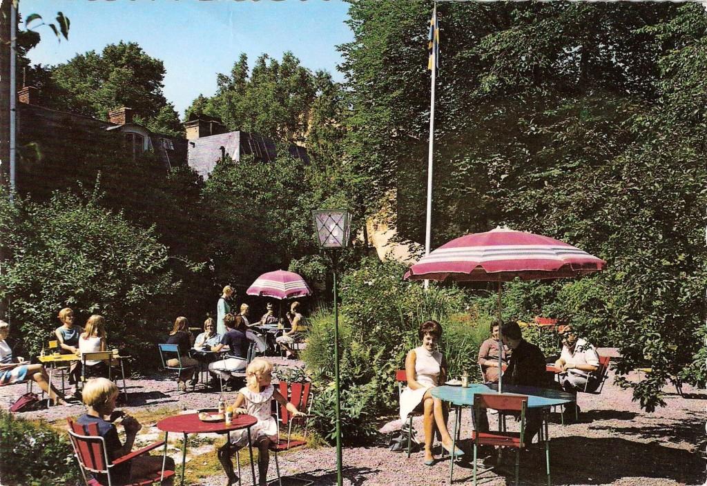 Gylles trädgård kring 1970
