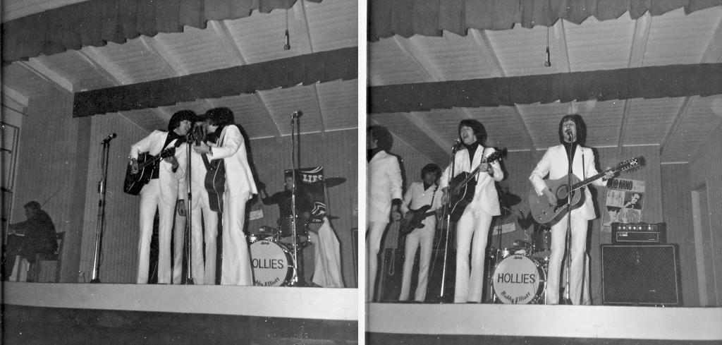The Hollies i Wämöparken 1966