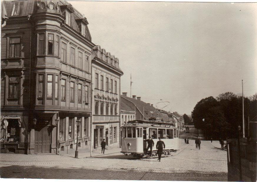 Landbrogatan på 1910-talet