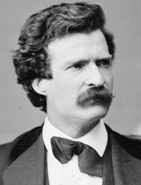 Ett i Sverige passande citat av Mark Twain!