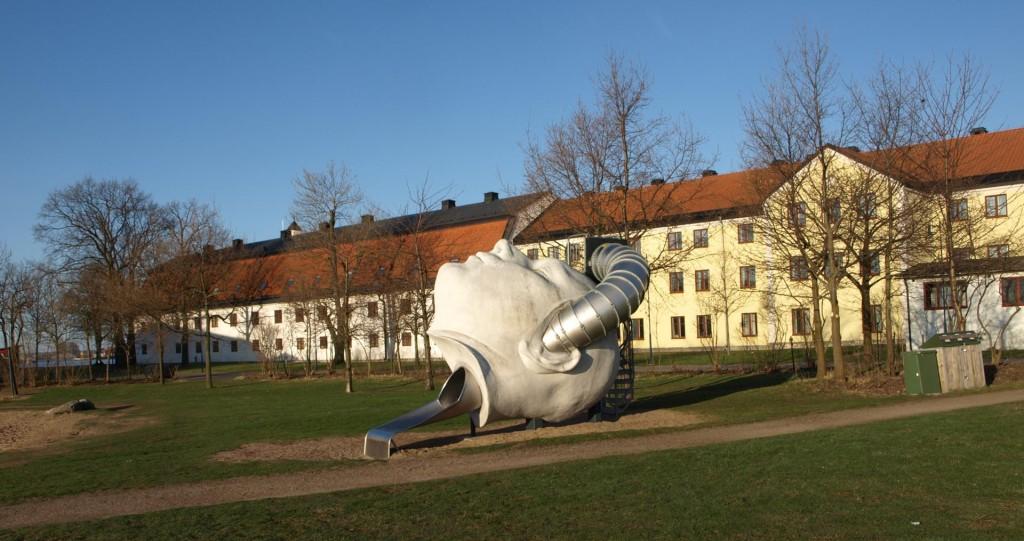 """Ulf Rollofs """"huvud"""" på Stumholmen"""