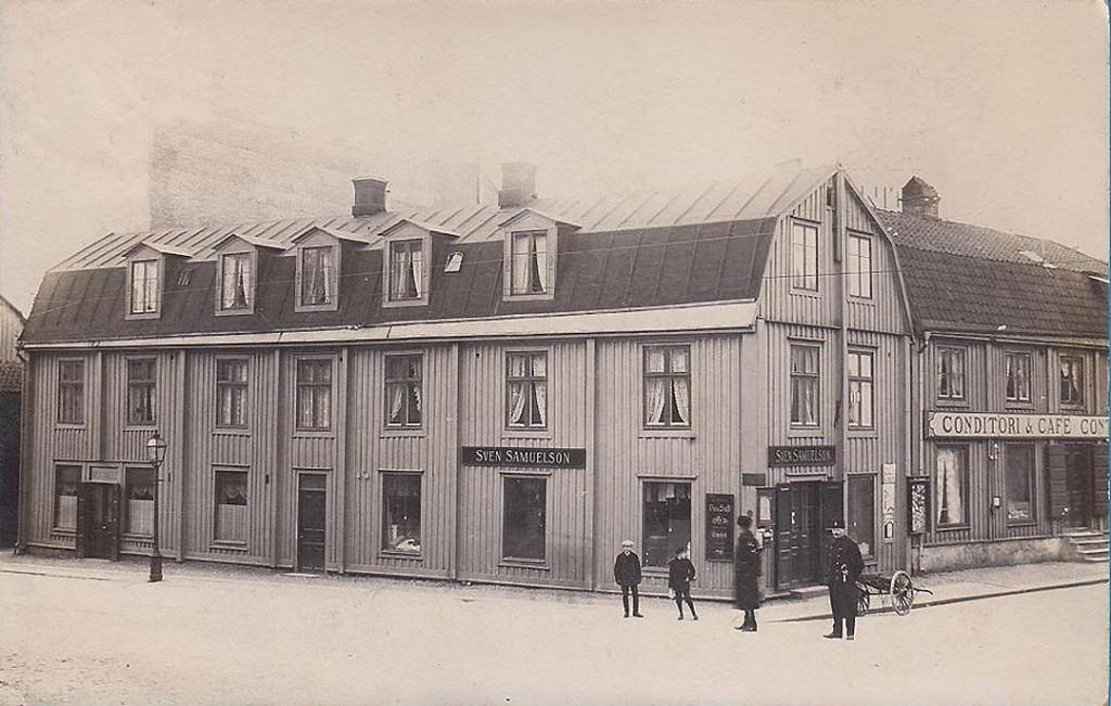 Sven Samuelssons på Borgmästaregatan