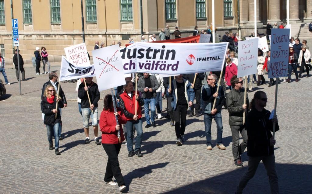 Socialdemokraternas 1 maj 2013 i Karlskrona