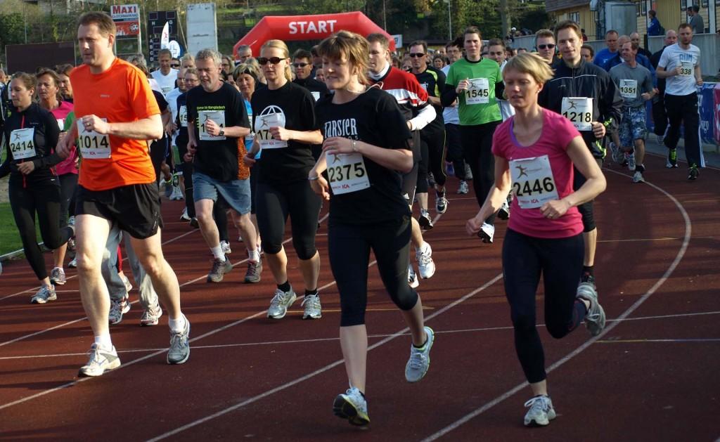 Blodomloppet 2013-05-13 i Karlskrona blev en folkfest