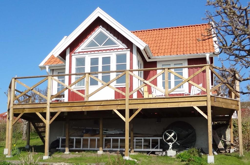 Stuga på Brändaholm