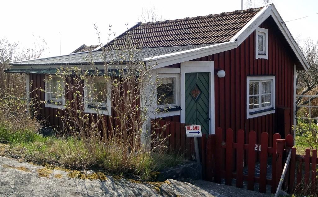 Stuga 21 på Brändaholm, Bergsbo, är just nu till salu