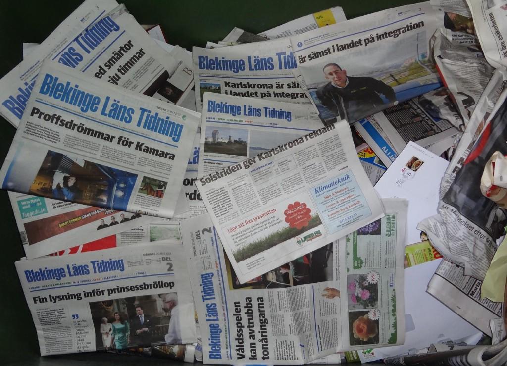 Skräp som BLT och andra gammelmedier där de hör hemma