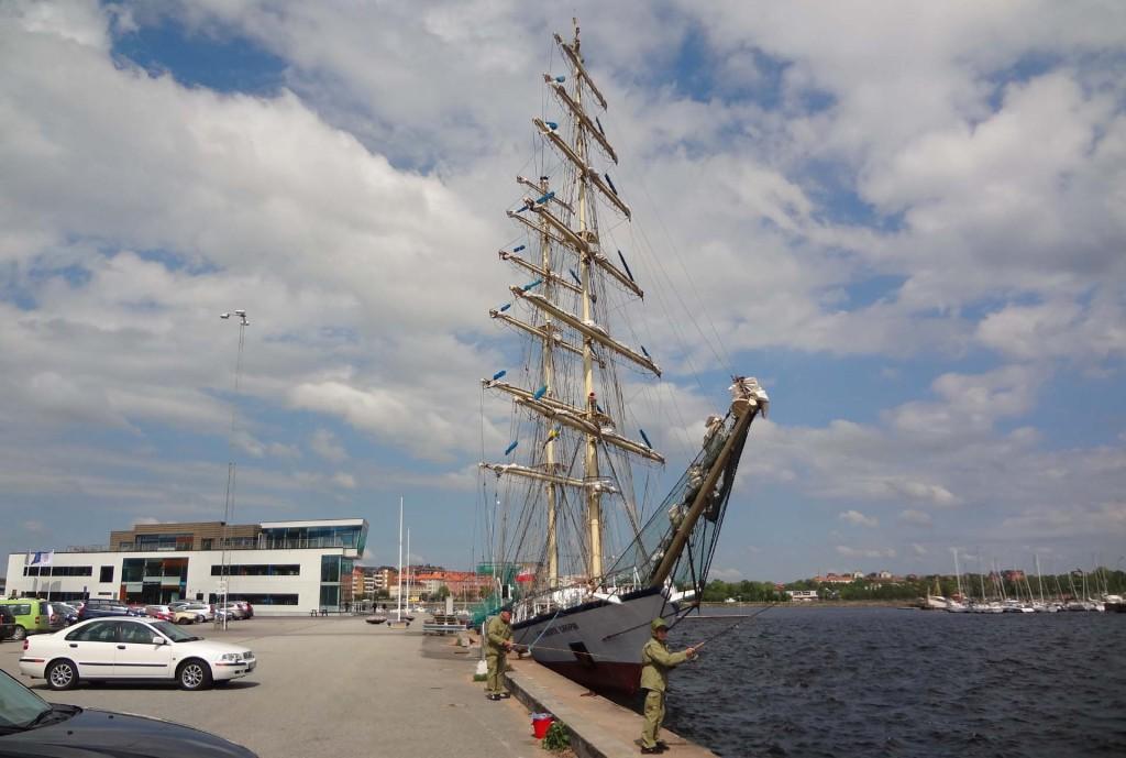 "Polska ""Fryderyk Chopin"" på besök i Karlskrona handelshamn 2013-05-28"