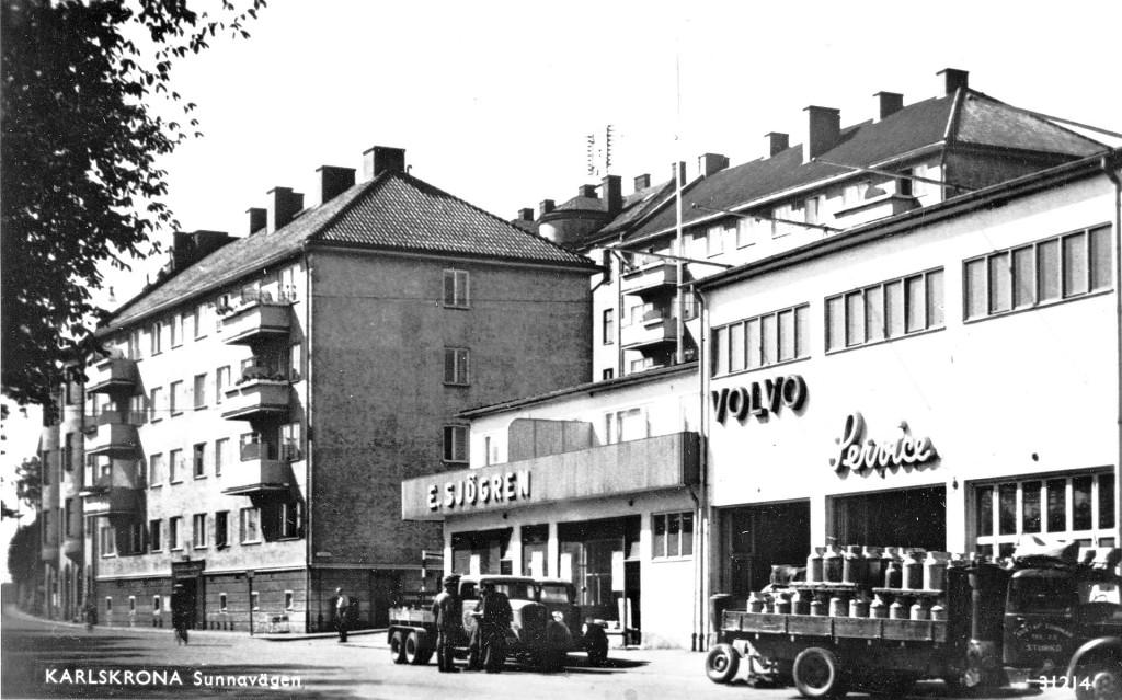 Sjögrens Bil och HSB-husen