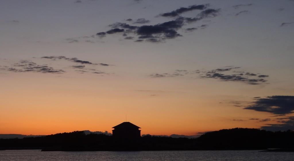 Dagens solnedgång...