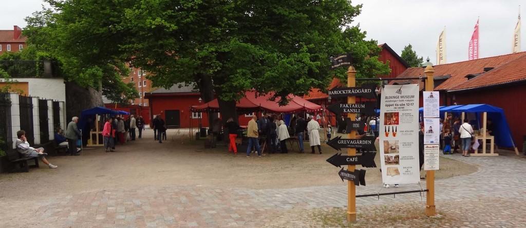 Blekinge Museums gård idag!