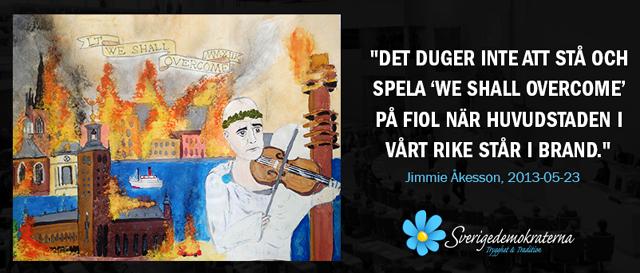 Kejsare Reinfeldt och hans fiol