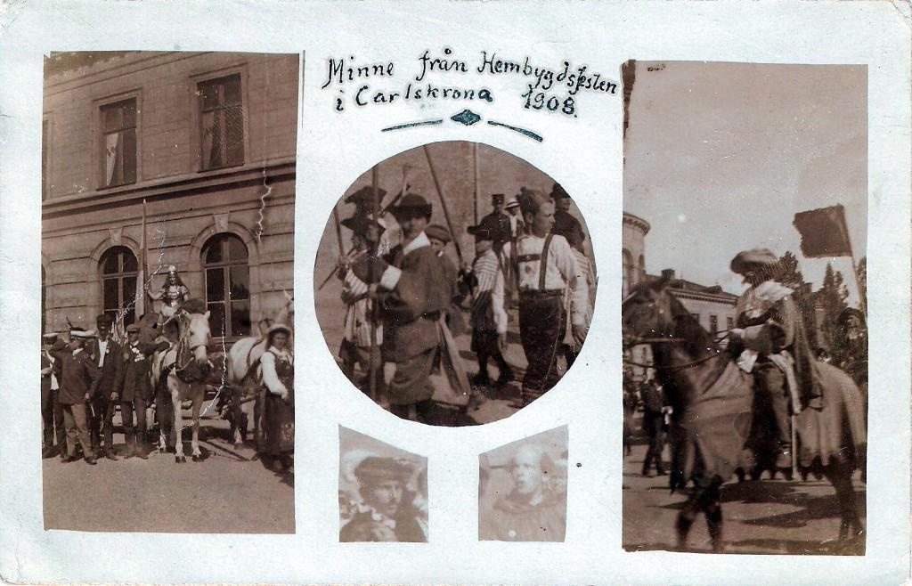 Den stora Hembygdsfesten 1908