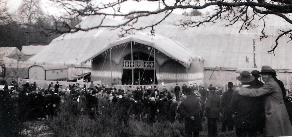 Cirkus Hagenbeck på Wämö