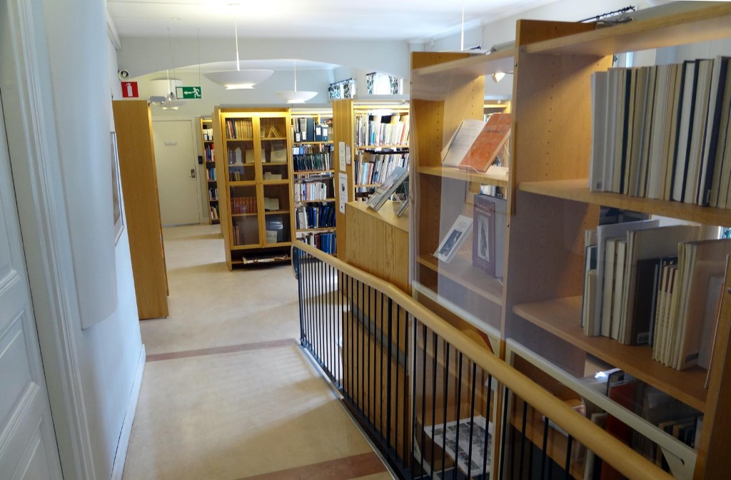 Blekingerummet på Karlskrona Stadsbibliotek