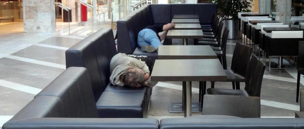 Sovande människor