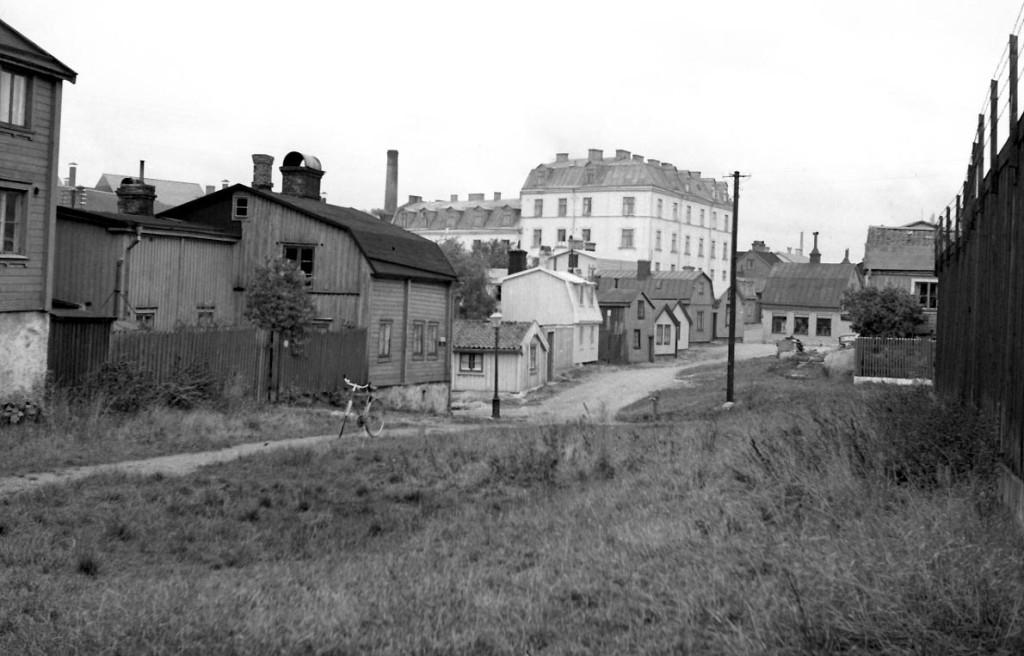Baggensgatan på Västerudden