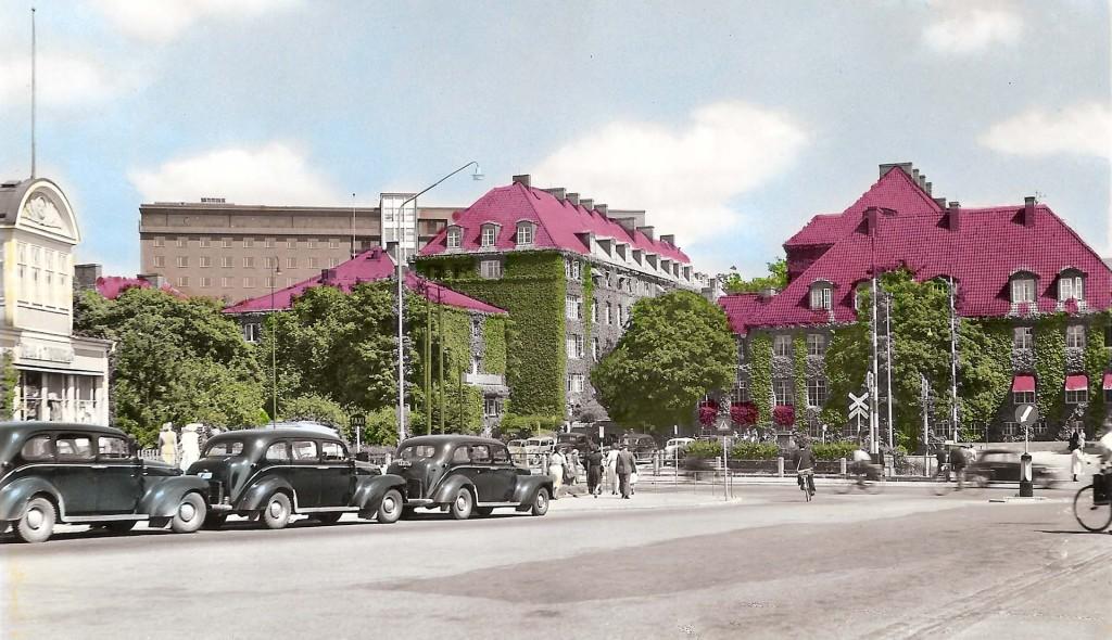 Centrallasarettet i slutet av 1950-talet