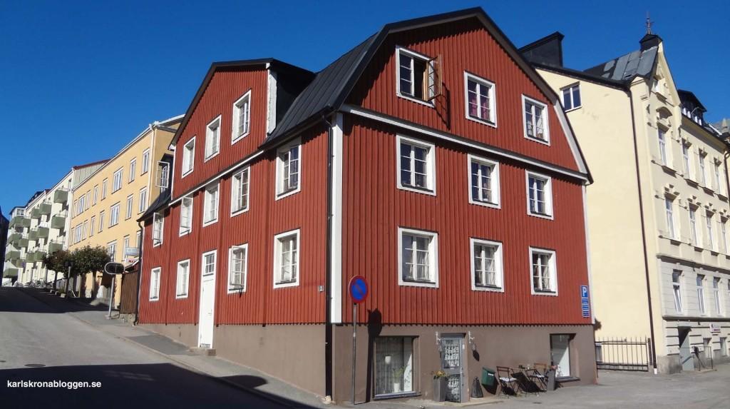 """""""Huset som Gud glömde"""" på Västra Vittusgatan"""