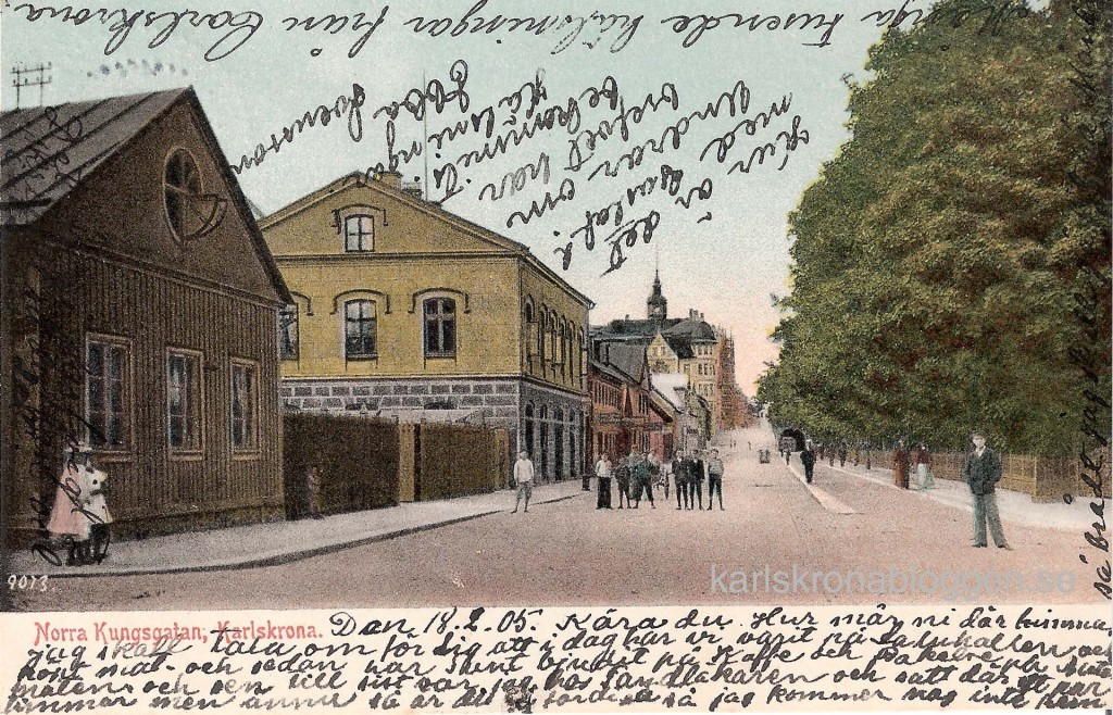 Norra Kungsgatan före 1905
