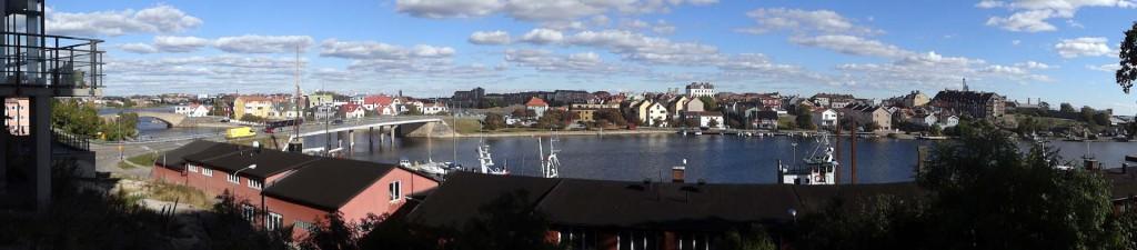 Panoramabild från Saltö