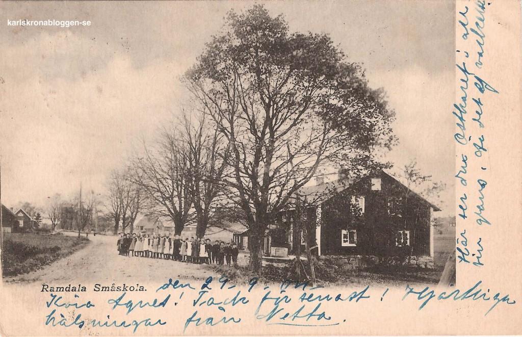 Ramdala Småskola 1904
