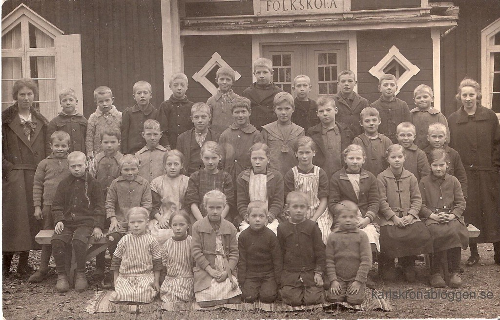Flakulla Folkskola 1922