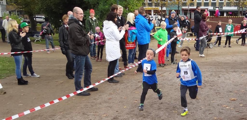 Löpning i Hoglands park