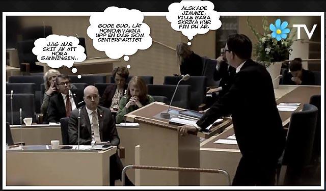 Sanningen svider Fredrik Reinfeldt