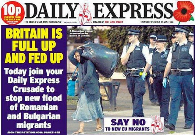 """Daily Express drar igång en kampanj ungefär som Aftonbladets """"Vi gillar olika"""""""