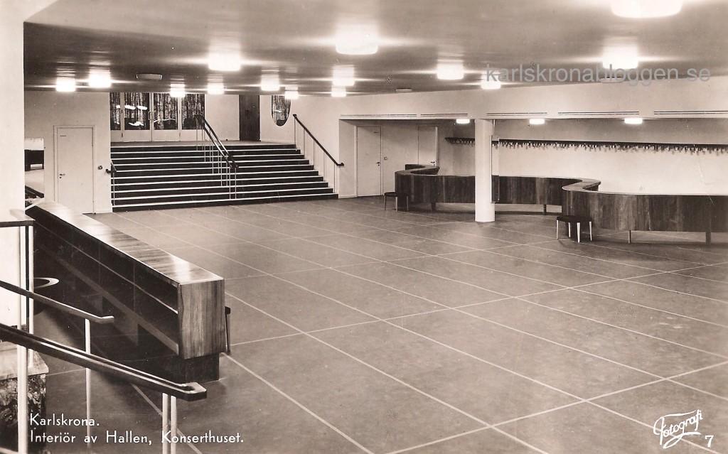 Hallen i Konserthuset 1948