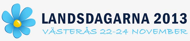 Sverigedemokraternas landsdagar i Västerås 22-24 november 2013