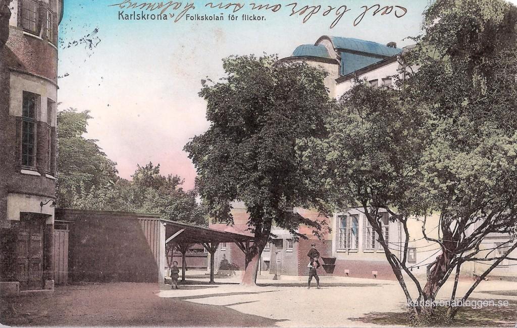 Sjöbladsskolan 100 år tidigare
