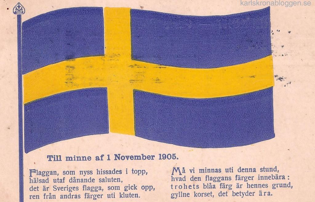 Till minne av 1 november 1905