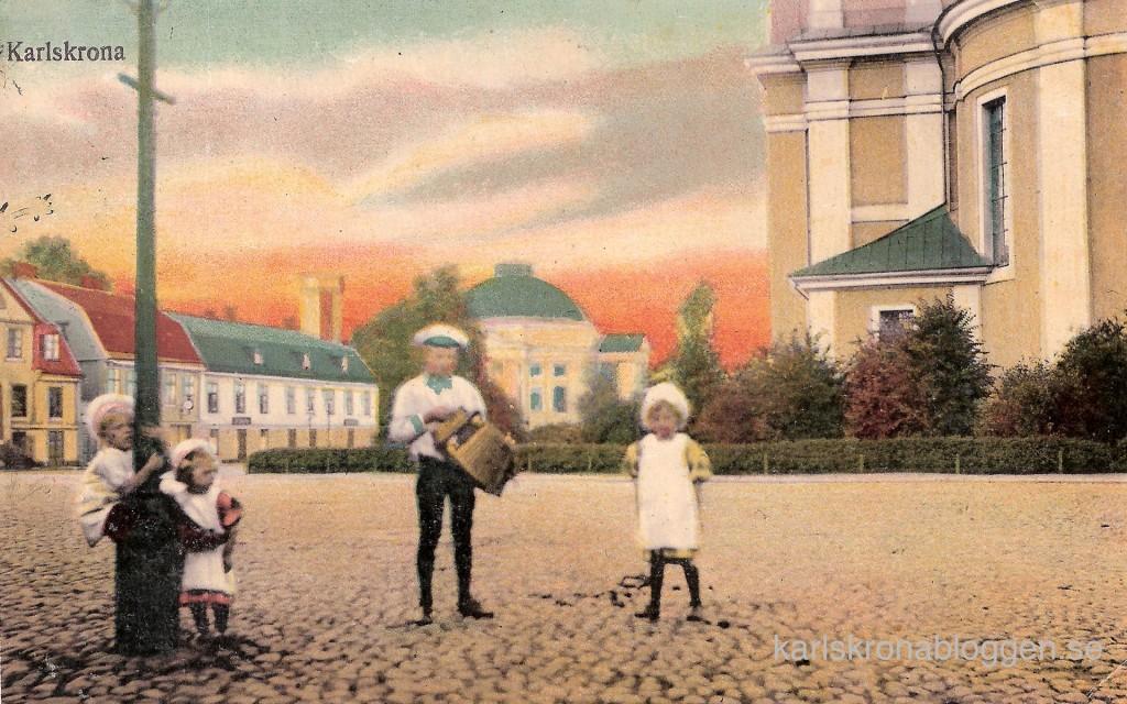 Stortorget från Grapes 1909